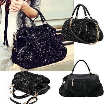 Bling Leather Bag - Mistics