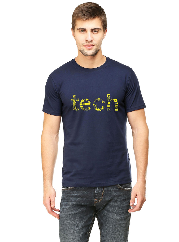 Tech Typo T-Shirt - Mistics