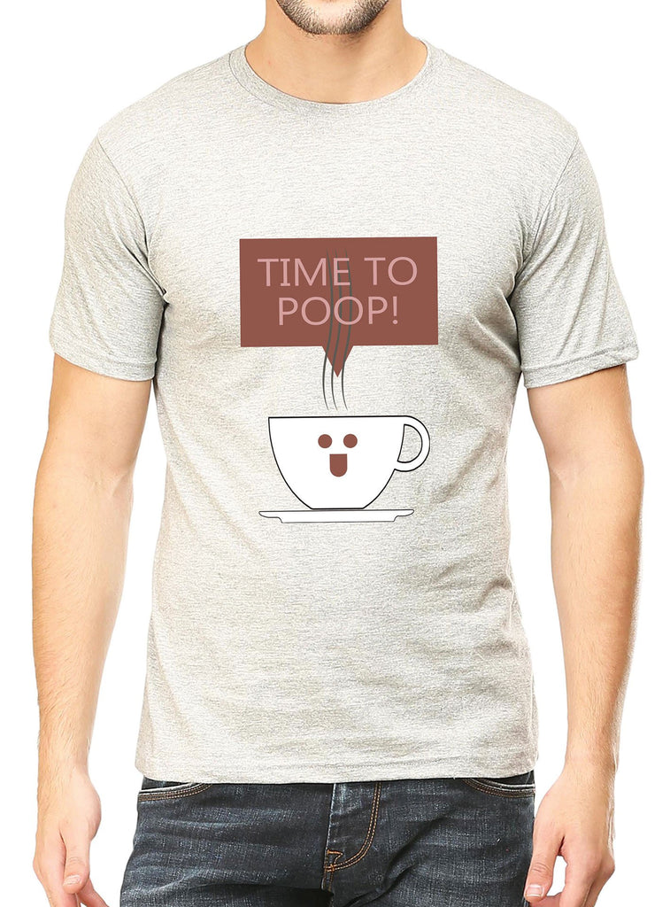 Time To Poop T-Shirt - Mistics