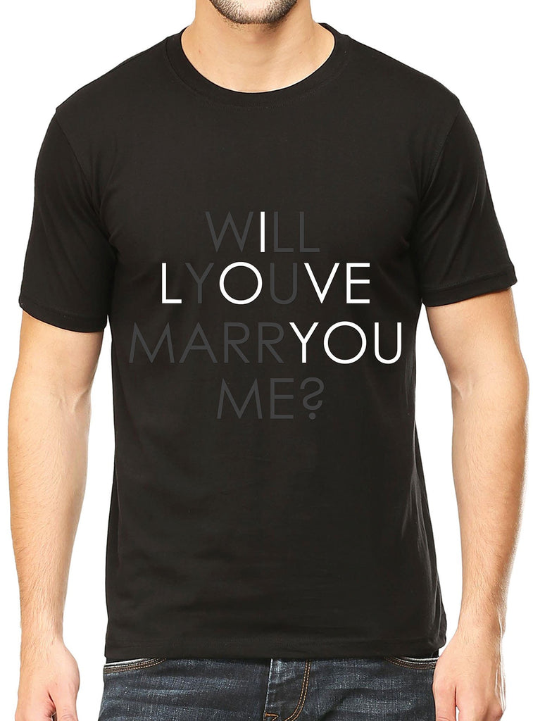 Will You Marry Me T-Shirt - Mistics