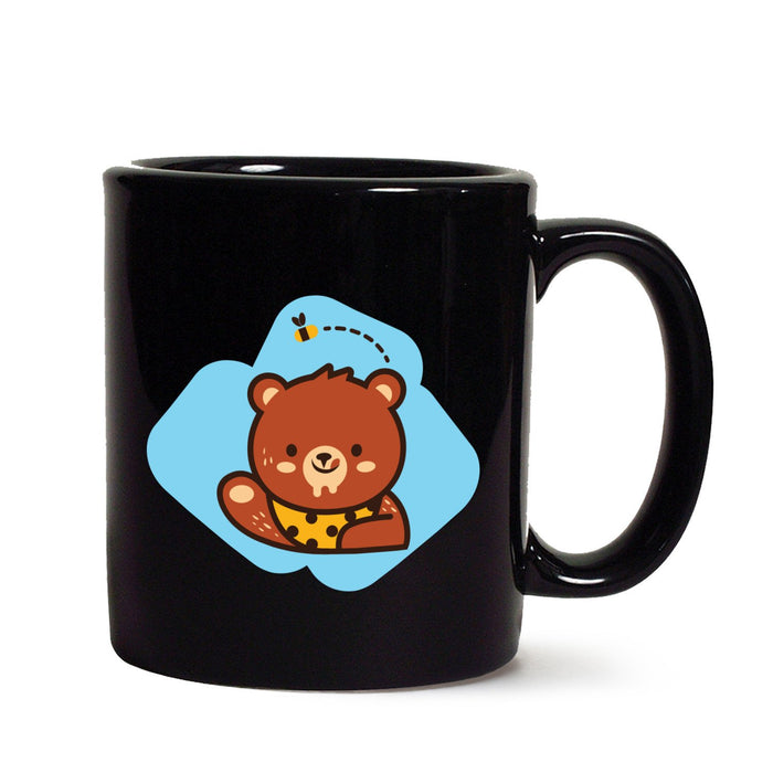 Beer Loves Honey Black Mug - Mistics