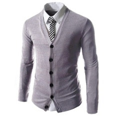 Slim Fit Cardigan - Mistics