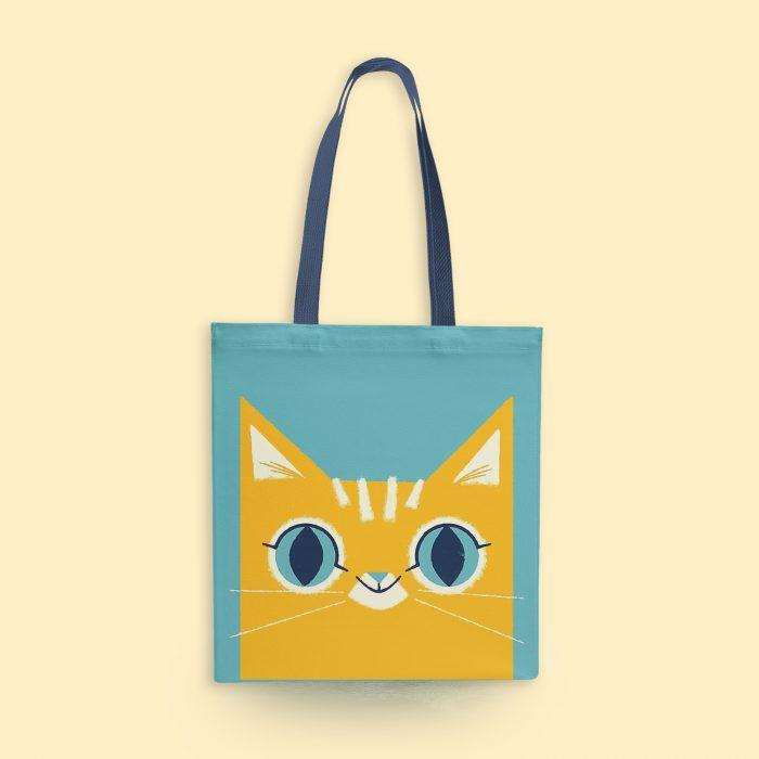 Cute Cat Tote Bag - Mistics