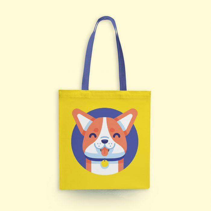 Cute Puppy Tote Bag - Mistics