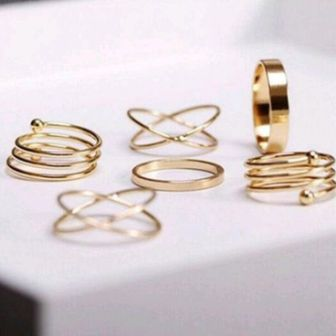 Exquisite Rings (Set of 5) - Mistics