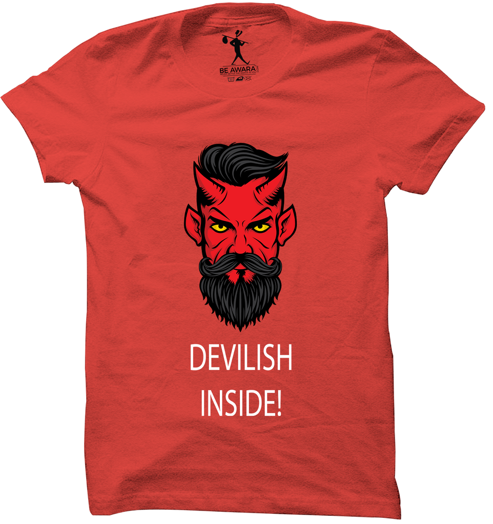 Devilish Inside T-Shirt - Mistics