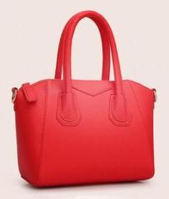 Embossed Leather Bag - Mistics