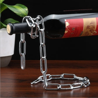 Hanging Rope Wine Rack - Mistics