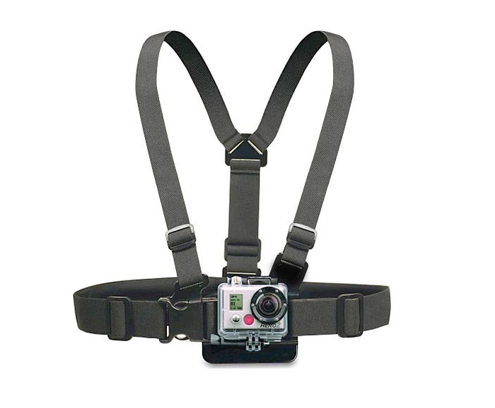 Gopro Camera Chest Harness Mount Belt 2,3,3 Plus - Mistics