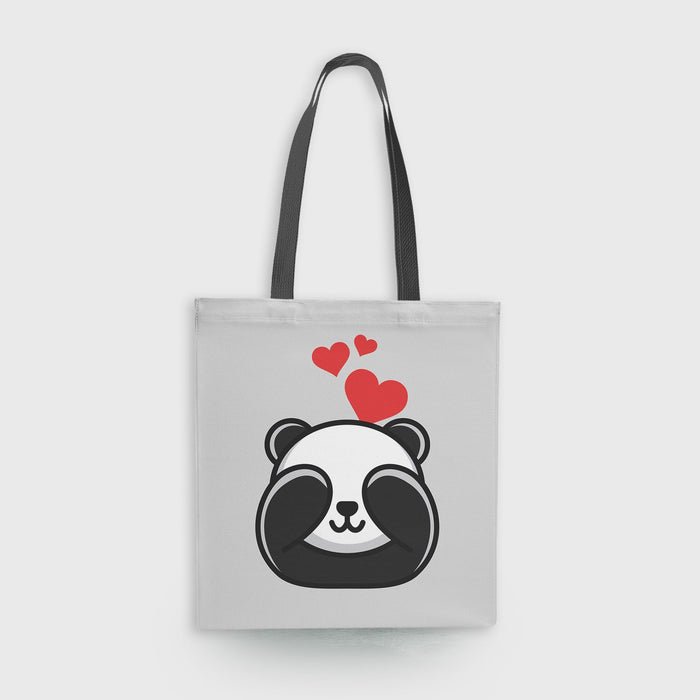Panda In Love Tote Bag - Mistics