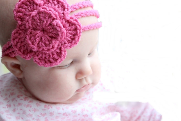 Head Band for girl - Pink - Mistics