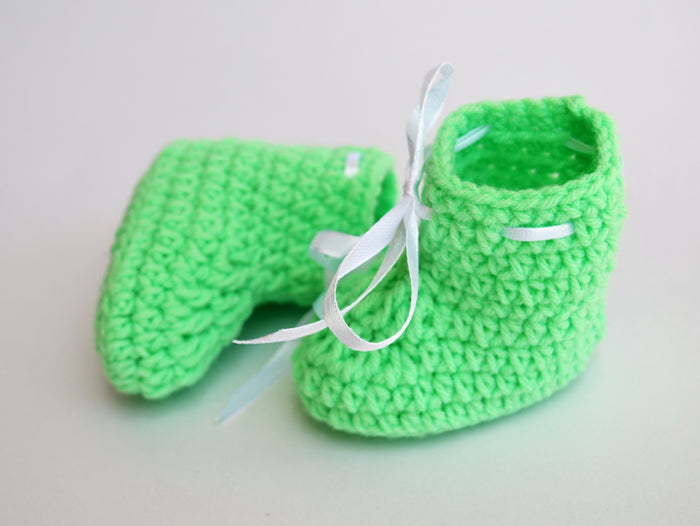 Woolen Infant Booties - Mistics