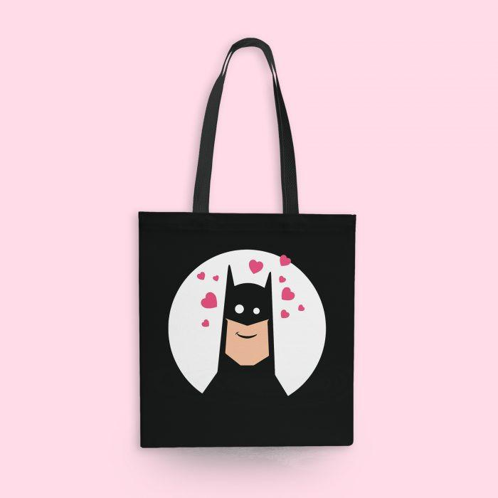 SuperHero In Love Tote Bag - Mistics