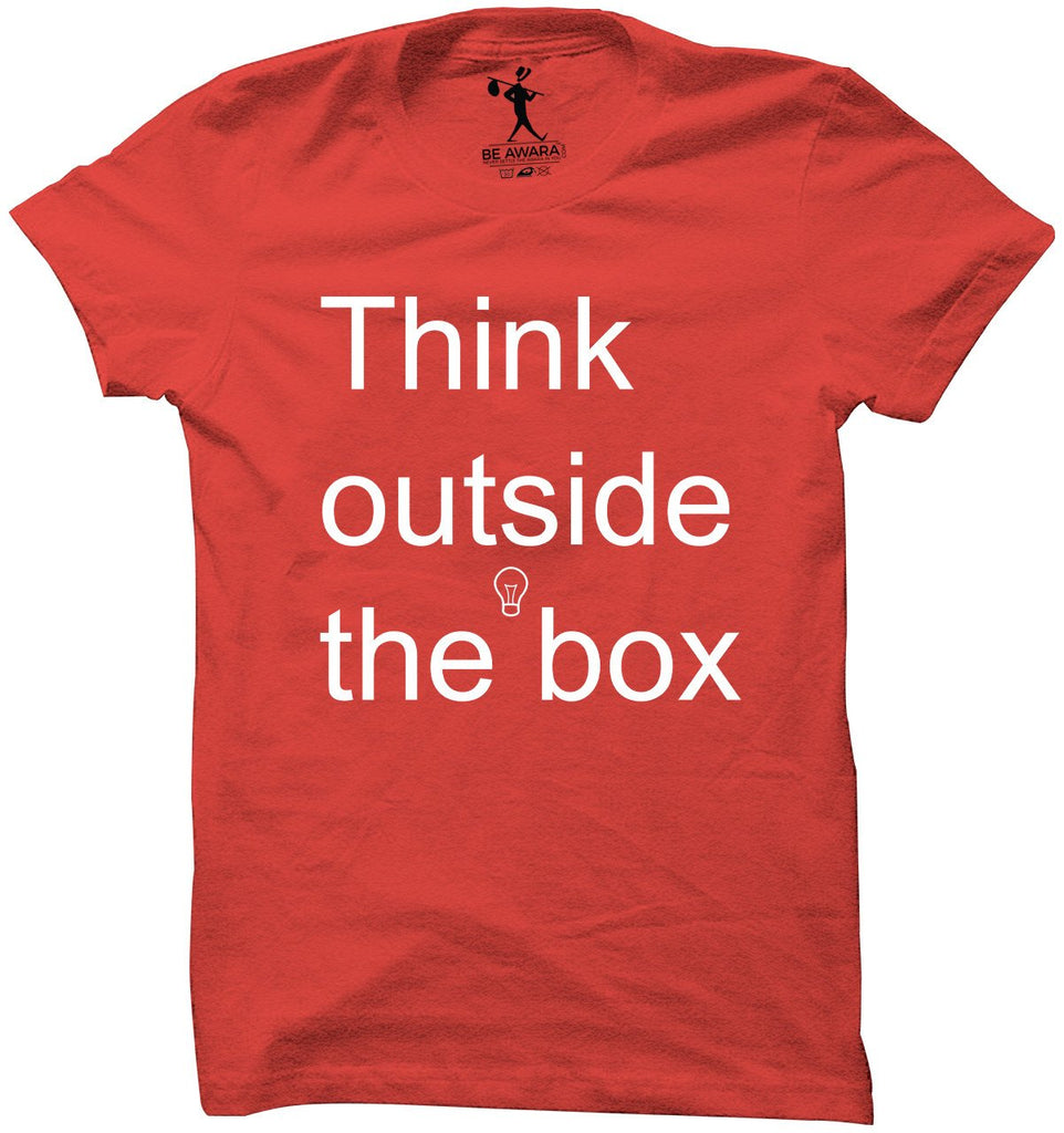 Think Outside the Box T-Shirt - Mistics