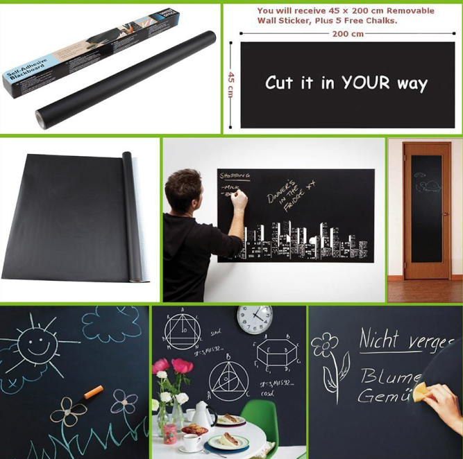 Blackboard Wall Sticker - Mistics