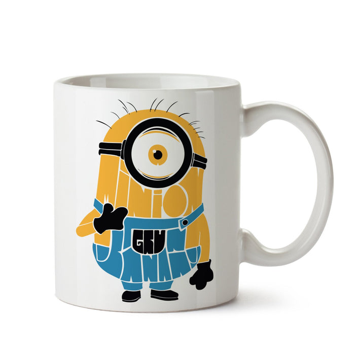 Minion White Coffee Mug - Mistics
