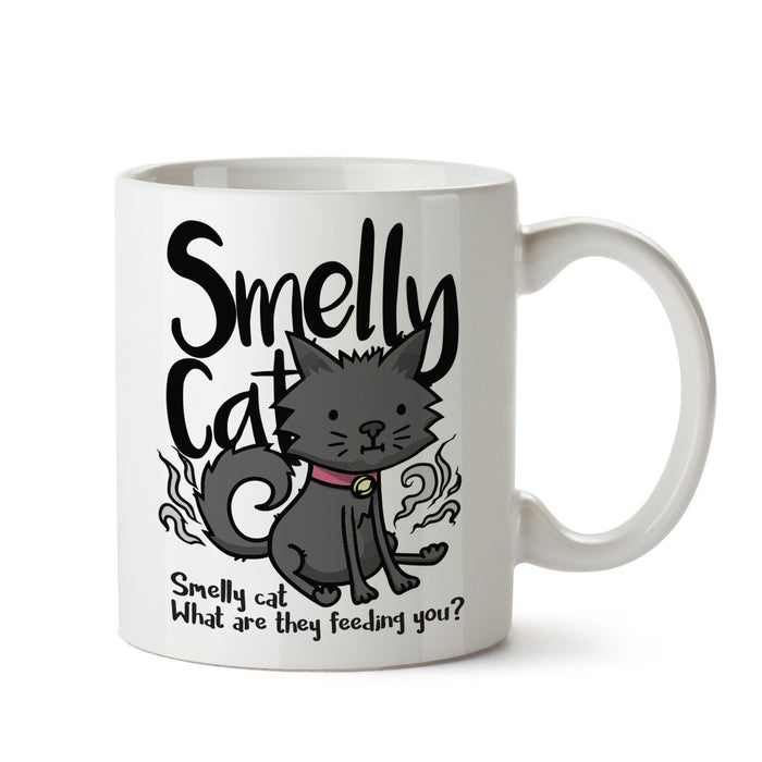 Smelly Cat White Coffee Mug - Mistics