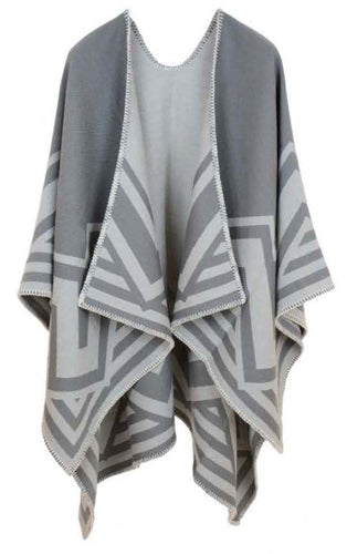 Aztec Grey Cape