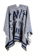 """Can't Stop The Feeling"" Grey Cape"