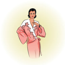 # 1946 - Art Deco Dressing Gown or Bed Jacket - Full Sized Print