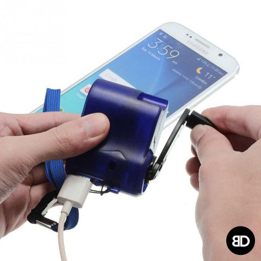 Lifesaving Hand Crack Phone Charger