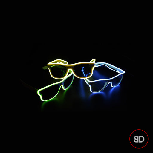 Glasses Neon LED Light