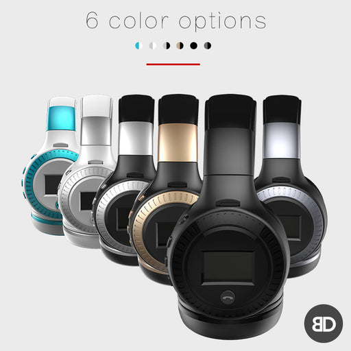 LCD Portable Foldable Earphone