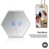 Multifunction clock wall mirror alarm