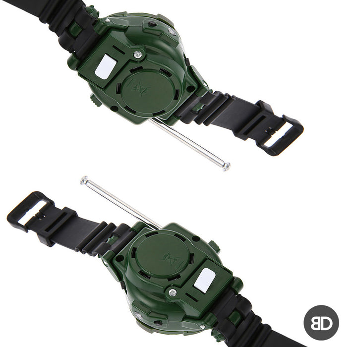 2pcs 7-in-1 Walkie Talkie Watch Toy