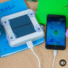 Solar Powered Charger with Suction Cups