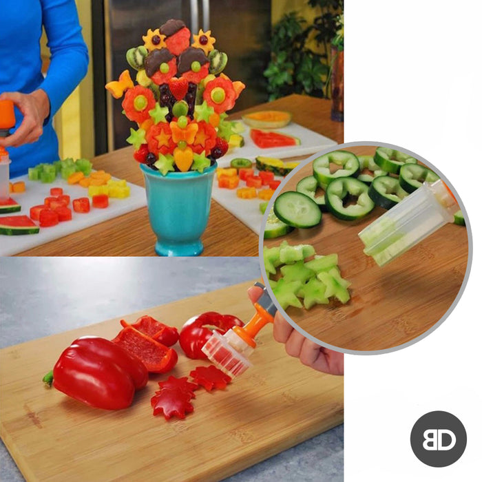 Push and Pop Fruit Shape Cutter