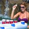Beer Pong on water