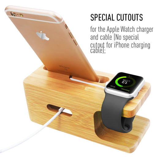 Bamboo Charging Dock Station