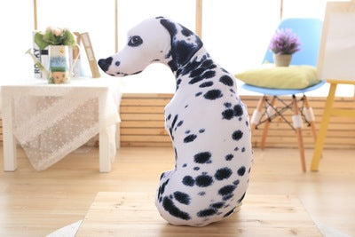 3D Animal Dog Shape Throw Pillow