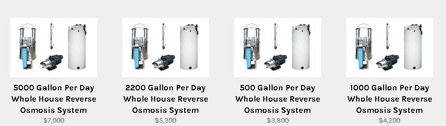 whole house reverse osmosis systems