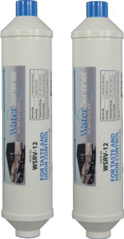 rv two stage inline water filter