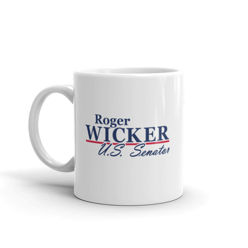 Roger Wicker For Senate Mug
