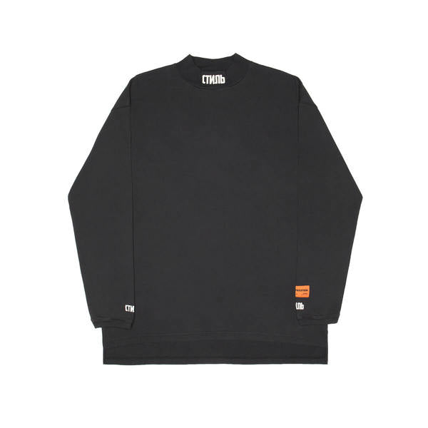HERON PRESTON STYLE TURTLENECK BLACK