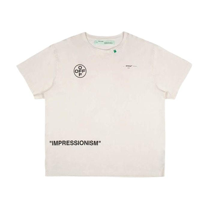 OFF-WHITE OVERSIZED STENCIL T-SHIRT