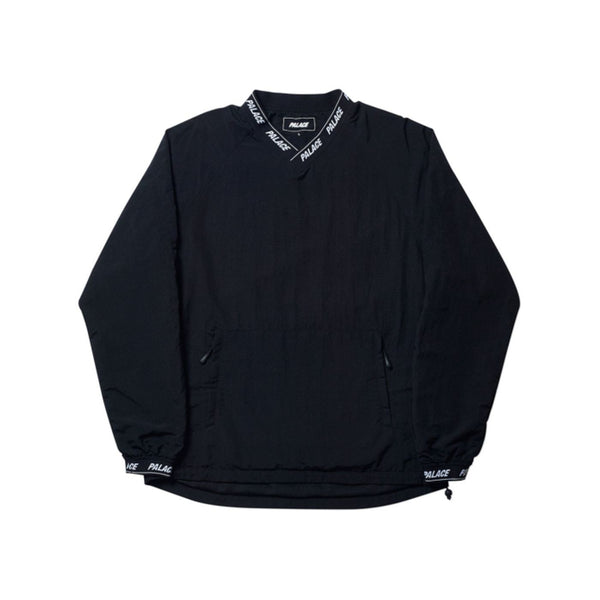 PALACE ASLAN SHELL CREW BLACK