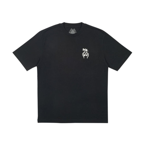 FW18 PALACE FINGER UP T-SHIRT BLACK