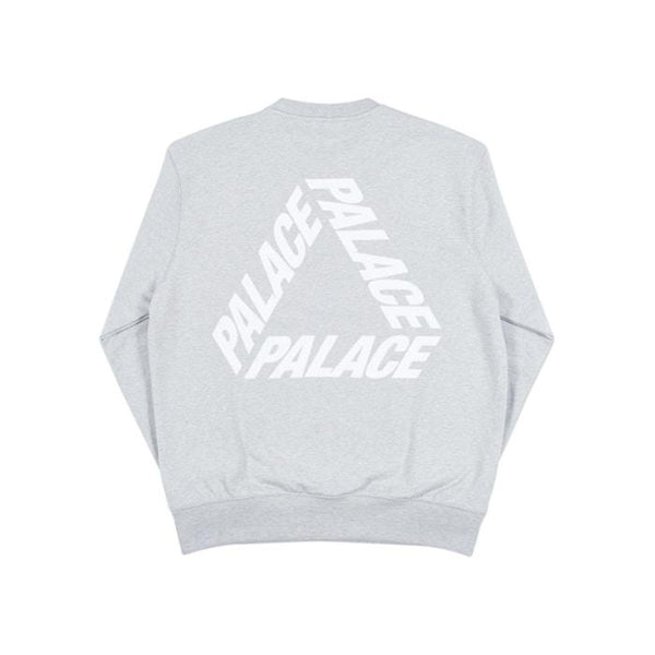PALACE P-3 CREWNECK GREY MARL