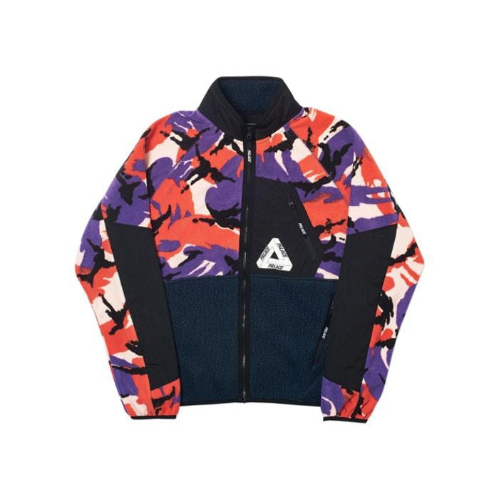 PALACE P-SURGENT FLEECE JACKET MULTI DPM