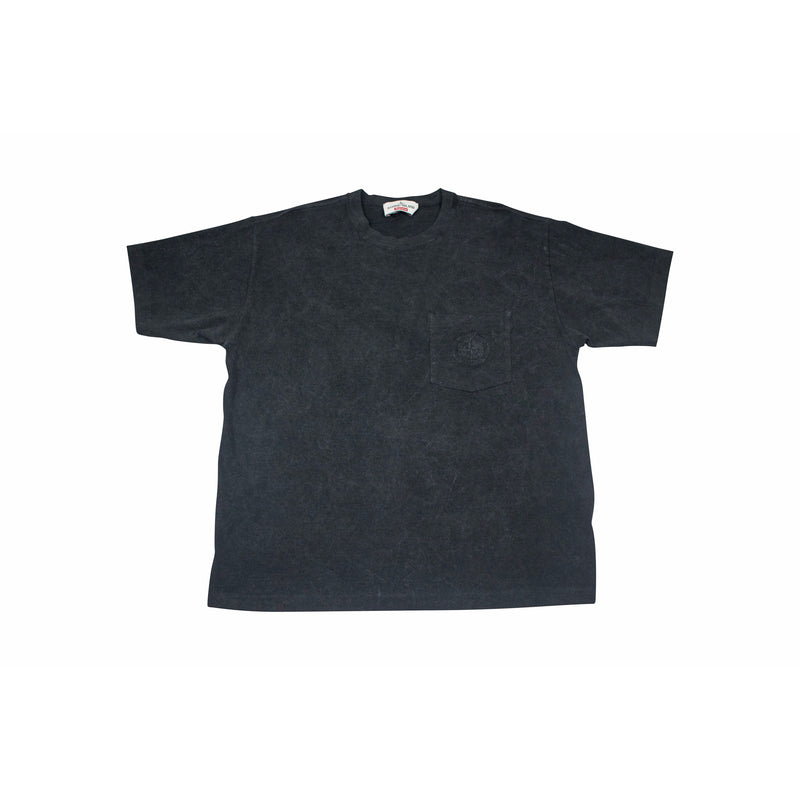 SUPREME X STONE ISLAND POCKET TEE BLACK