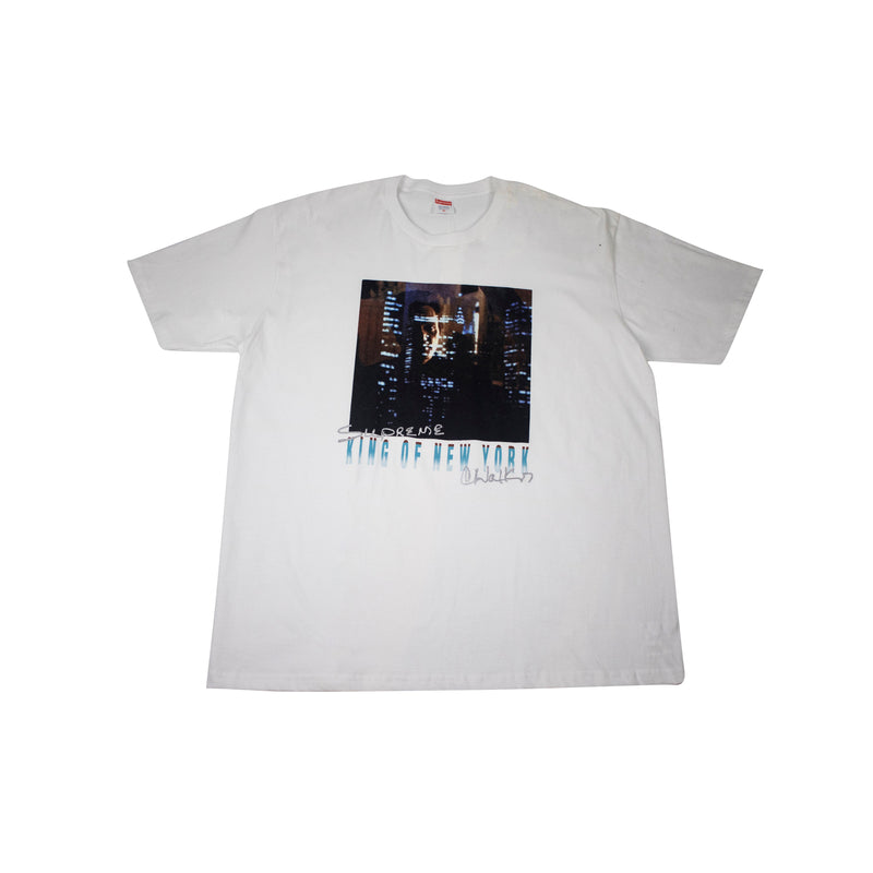 SUPREME KING OF NEW YORK T-SHIRT WHITE