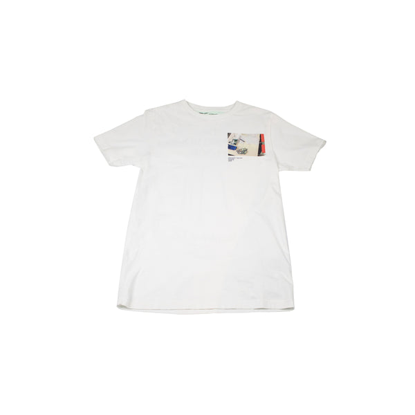 OFF-WHITE CUTTING ROOM FLOOR T-SHIRT WHITE
