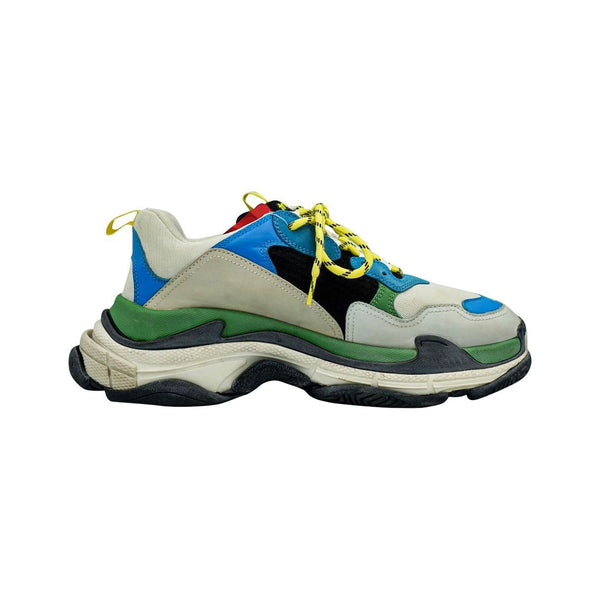 BALENCIAGA TRIPLE S LIGHT GREY MULTI SNEAKERS