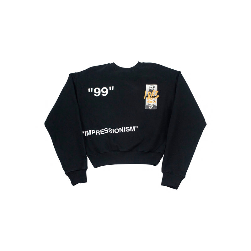 OFF-WHITE SUMMER SWEATSHIRT BLACK