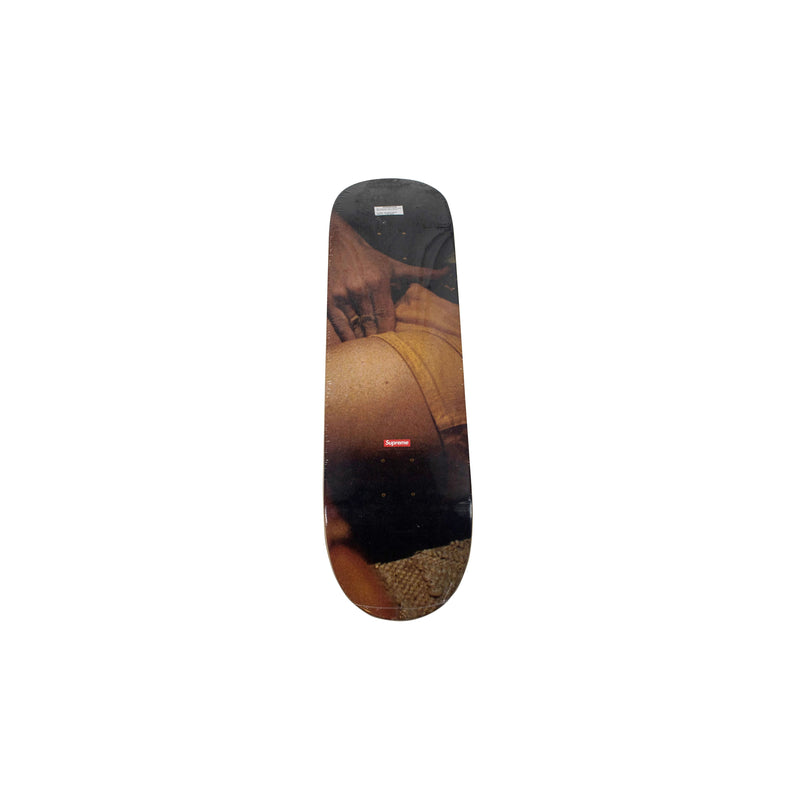SUPREME LARRY CLARK KIDS MAKEOUT SKATEBOARD DECK MULTI