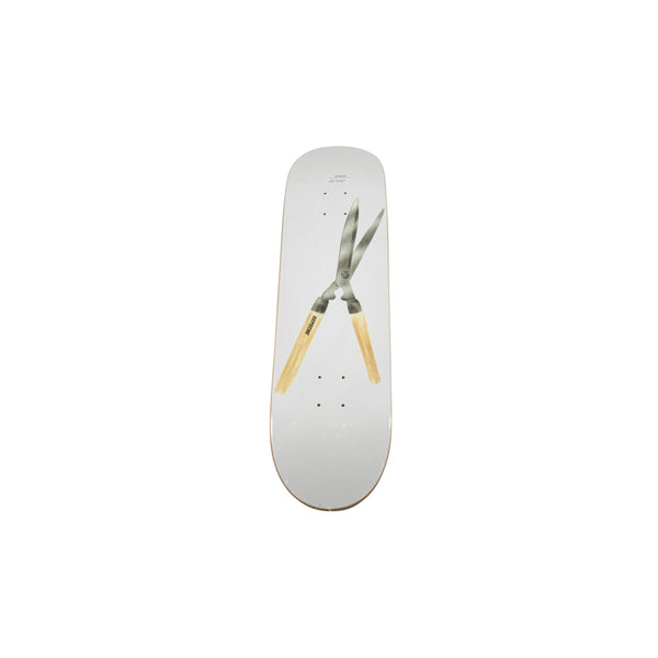 SUPREME SHEARS SKATEBOARD DECK WHITE